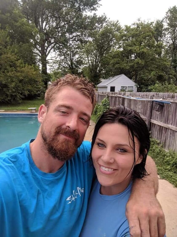 Melissa Lehew and Kyle Bowman