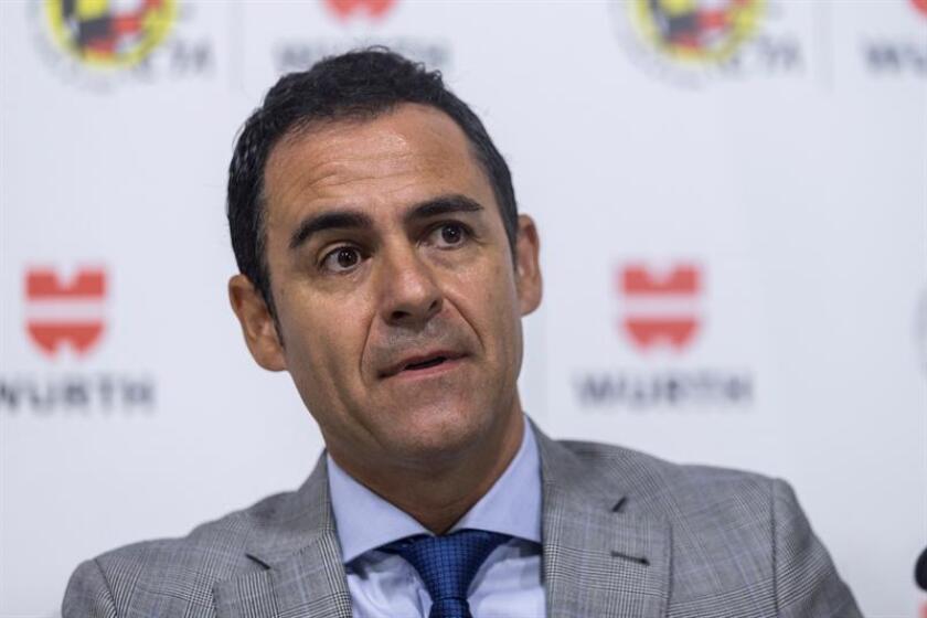 El presidente del Comité Técnico de Árbitros, Carlos Velasco Carballo. EFE/Archivo