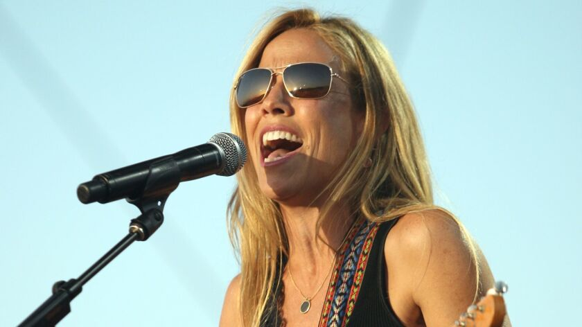 Sheryl Crow at the Stagecoach Country Music Festival in 2012
