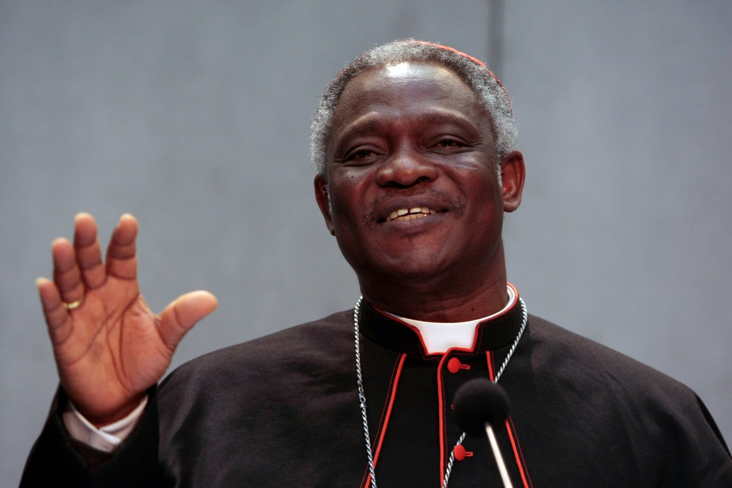 Peter Kodwo Appiah Turkson of Ghana is an African prelate seen as a top contender, and at 64 would be better positioned than older candidates to carry on the doctrine of John Paul II and Benedict XVI through what could be a time of growing Catholic influence in the developing world. Currently president of the Pontifical Council for Justice and Peace, Turkson has spent much of his career in religious academia. He has a doctorate in sacred scripture and has been a professor at St. Teresa's Seminary in his home country as well as vice rector at St. Peter's Seminary. His negative views on the merits of using condoms to prevent the spread of HIV/AIDS, though, have alienated reformists within the church. In 2009, he reaffirmed the church's position against contraception, urging abstinence and fidelity instead.