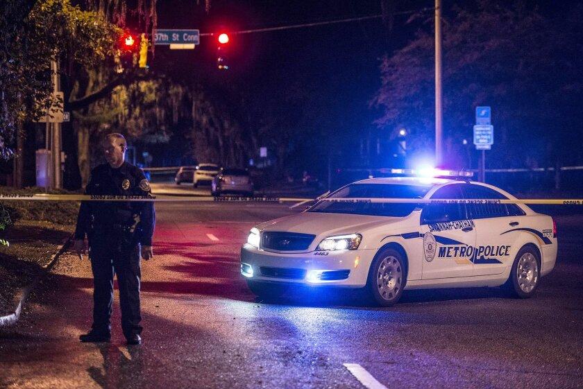 Authorities say 2 Savannah-Chatham police officers shot