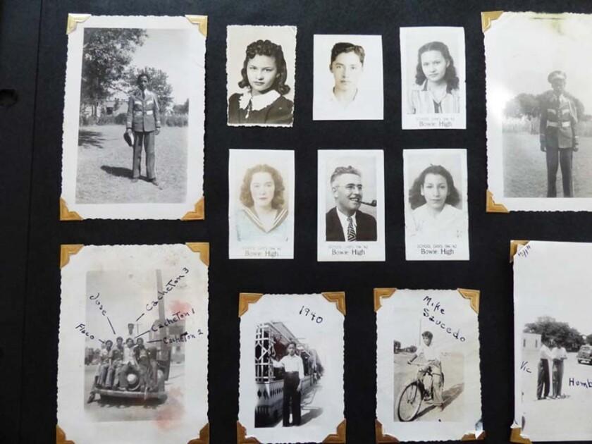 Oscar Castillo's family photo album