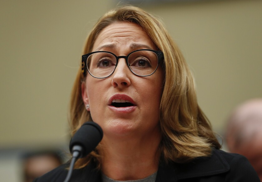 Mylan CEO Heather Bresch testifies before the House Committee on Oversight and Government Reform.