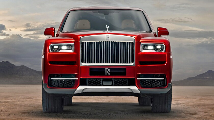 2019 Rolls Royce Cullinan: Design, Powertrain, Release >> The Rolls Royce Cullinan Suv Is Wonderful But At 325 000