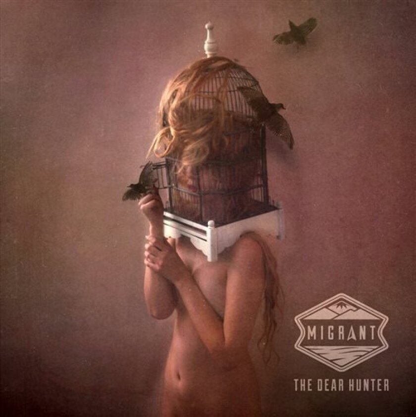 """This CD cover image released by Equal Vision Records shows """"migrant"""" by The Dear Hunter. (AP Photo/Equal Vision Records)"""