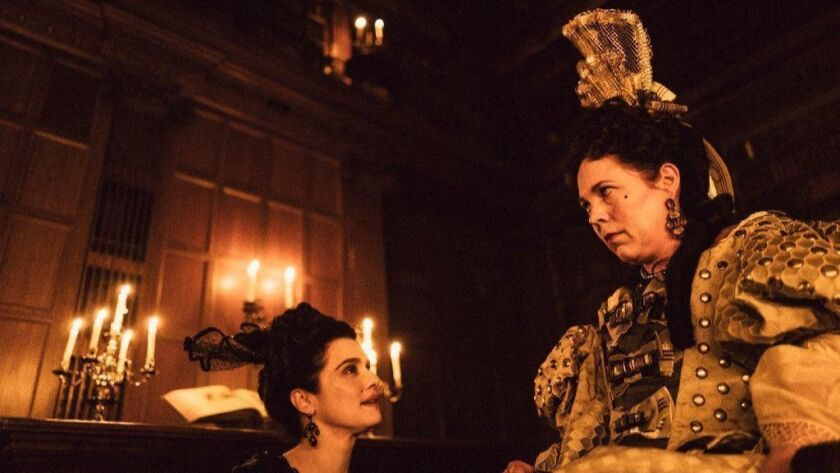 """Rachel Weisz and Olivia Colman in the Venice Film Festival prize-winner """"The Favourite,"""" which will resurface as the opening night selection of the New York Film Festival."""