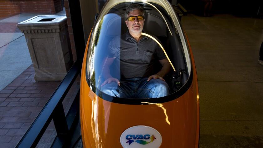 SANTA MONICA, CA--WEDNESDAY, SEPTEMBER 27, 2017--Bulletproof 360 CEO Martin Tobias, is photographed