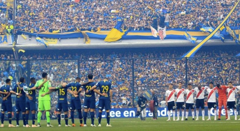 Boca Juniors y River Plate, cara a cara por el título de la Copa Libertadores 2018.