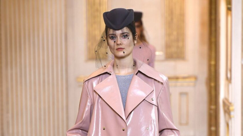 A look from Nina Ricci's ready-to-wear fall 2018 collection.