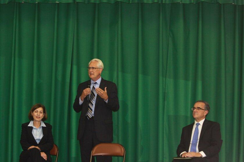City Council District 1 candidates Barbara Bry, Ray Ellis and Joe LaCava