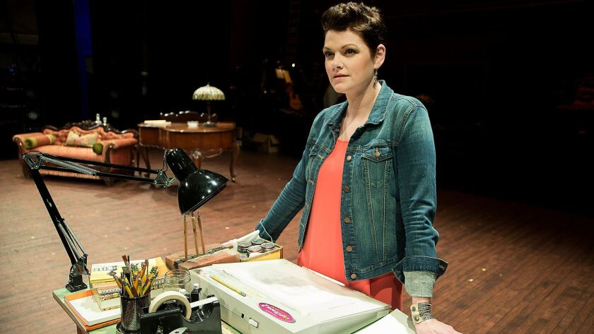 """Actress Kate Shindle plays one of the lead roles in the national tour of """"Fun Home."""""""