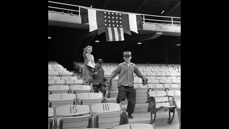 First game at Dodger Stadium