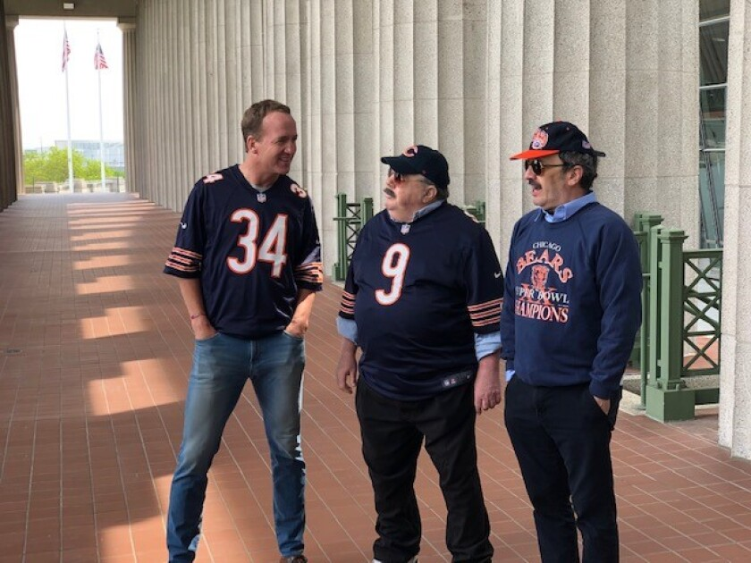 Peyton Manning, George Wendt, Robert Smigel