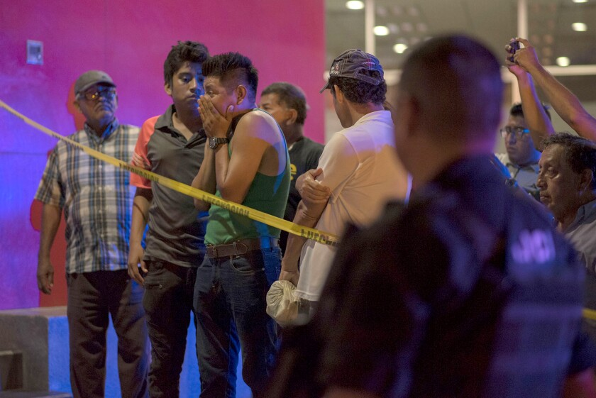 Extreme acts of violence in Mexico are on the rise: 25 burned to death at a strip club