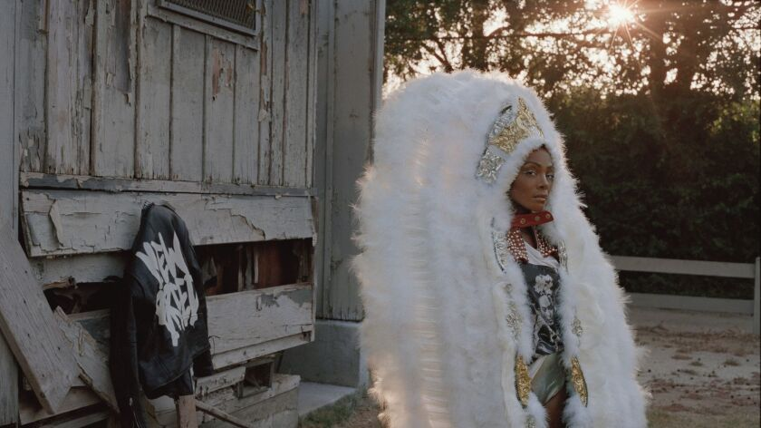 """Shape-shifting artist Dawn Richard is back with her latest project, """"new breed,"""" which leans on her New Orleans heritage."""
