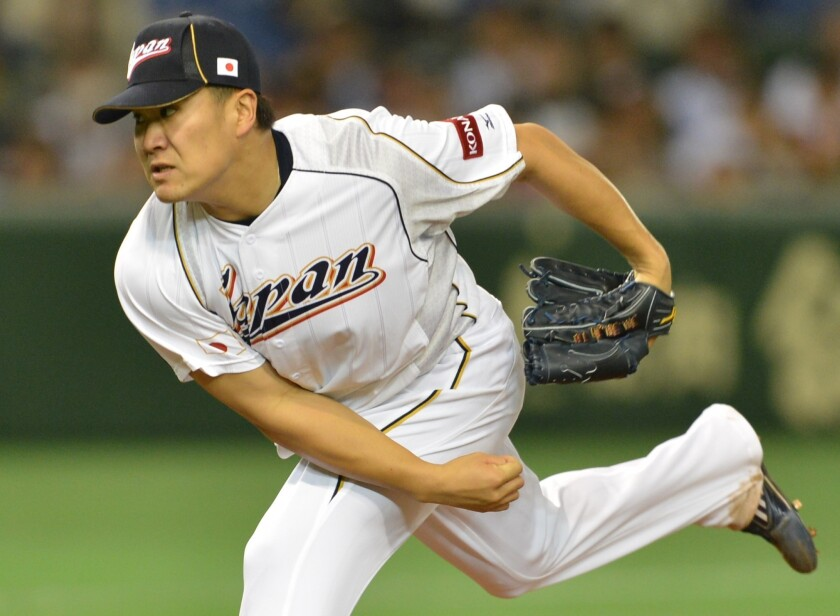 Japan's Masahiro Tanaka is available, but Dodgers don't commit yet