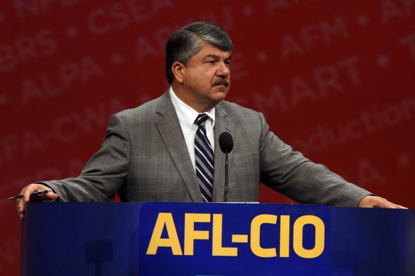 Union leader Richard Trumka