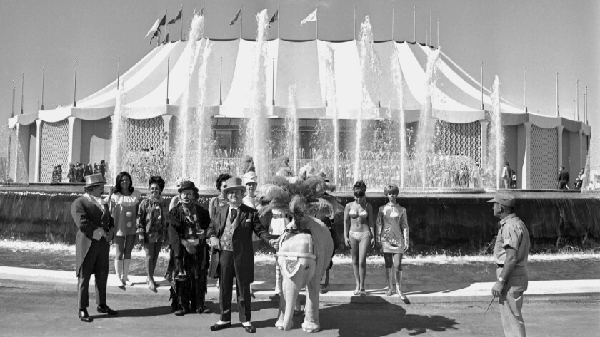10/18/1968 Circus Circus Grand Opening of the Casino in 1968. The collection contains interior and