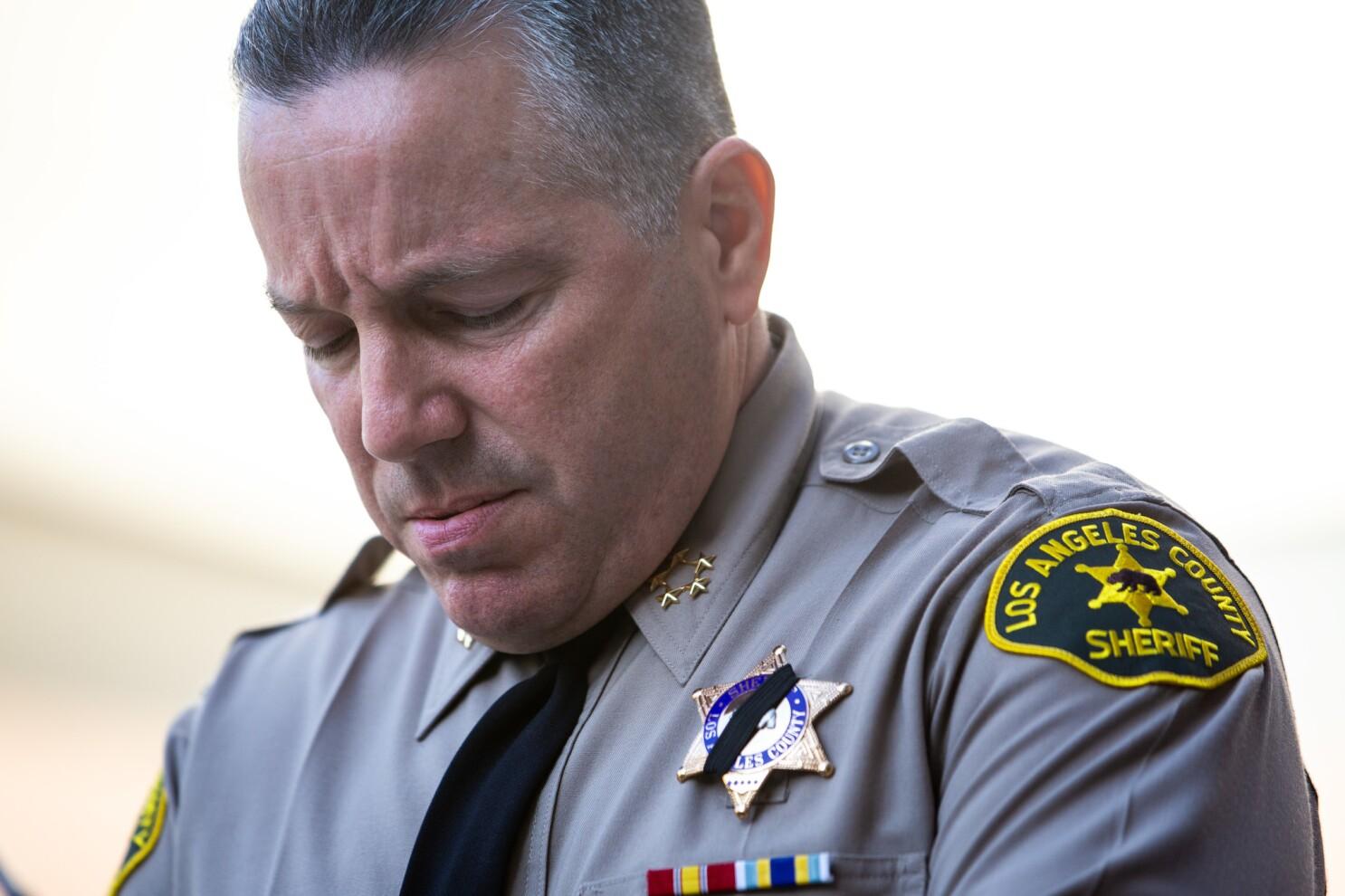 Letters to the Editor: Voters' remorse over L.A. County Sheriff Alex Villanueva
