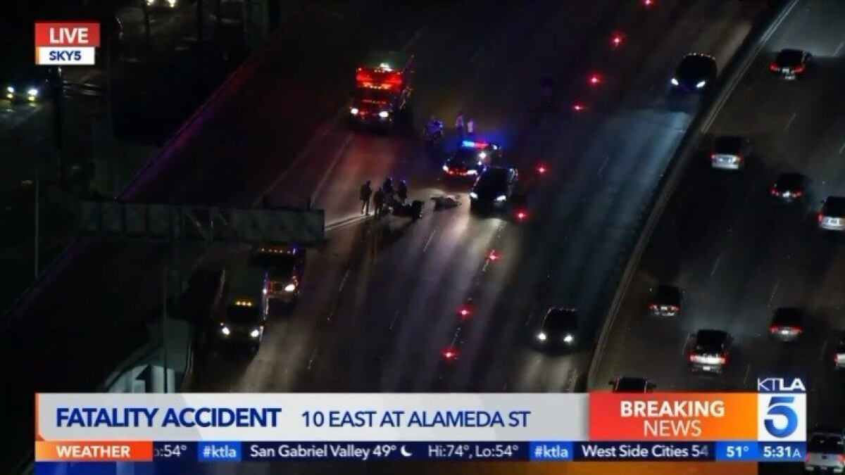 Lanes on 10 Freeway reopen after report of body prompts hours-long