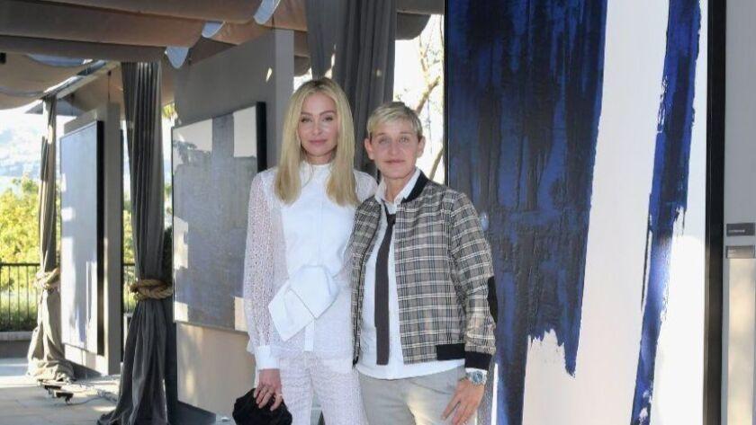 Ellen DeGeneres and Portia de Rossi have sold their home in Montecito for $34 million.