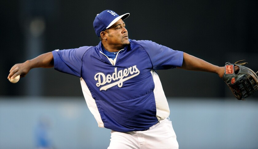 Signing free-agent third baseman Juan Uribe remains an off-season priority for the Dodgers.