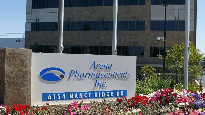 Arena Pharmaceuticals won the FDA's approval last month for Belviq. Eduardo Contreras • U-T