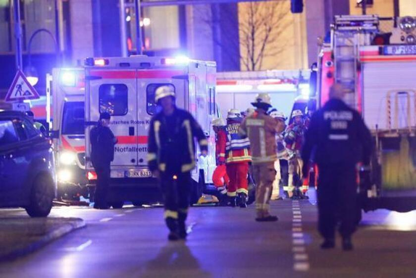 Las primeras investigaciones de la policía alemana, citadas por Reuters, apuntan a un posible ataque.