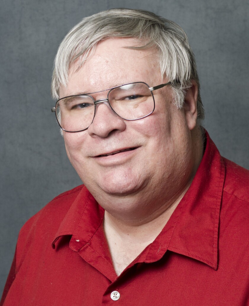 David Guth, shown in a photo provided by the University of Kansas, was placed on indefinite administrative leave Friday by university officials.