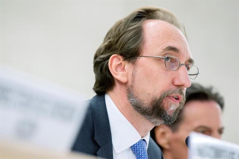 A menos de un mes de dejar el cargo, el alto comisionado de la ONU para los Derechos Humanos, Zeid Ra'ad al Hussein, defendió hoy las duras críticas que ha hecho a Gobiernos y líderes políticos de todo el mundo. EFE/ARCHIVO