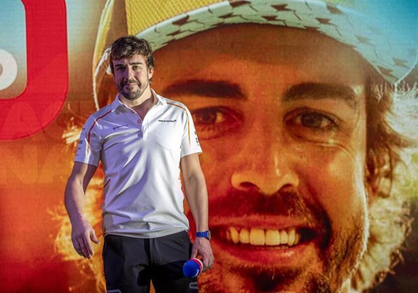 Spanish race car driver Fernando Alonso. EFE/EPA/File
