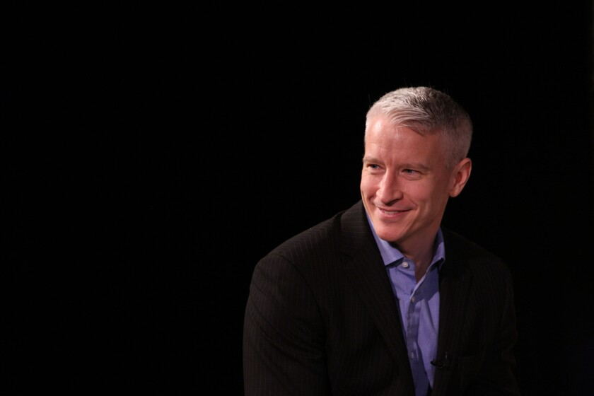 """Anderson Cooper is """"all for"""" more people loving his son."""