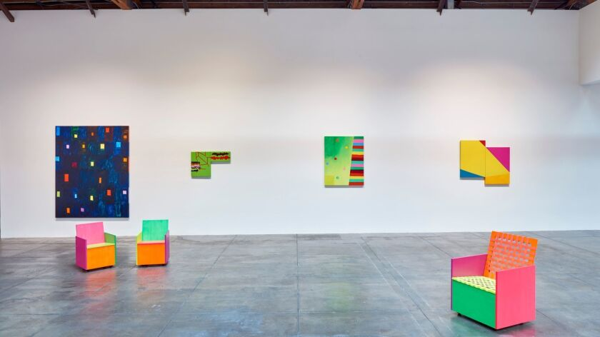 """""""Mary Heilmann: Memory Remix"""" delivers an electrifying jolt at Hauser & Wirth in Los Angeles."""
