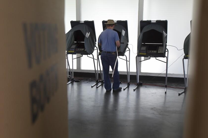 Costa Mesa polling site
