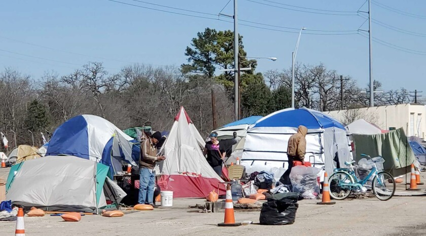 As leaders spar over homelessness in Austin, California becomes a punching bag