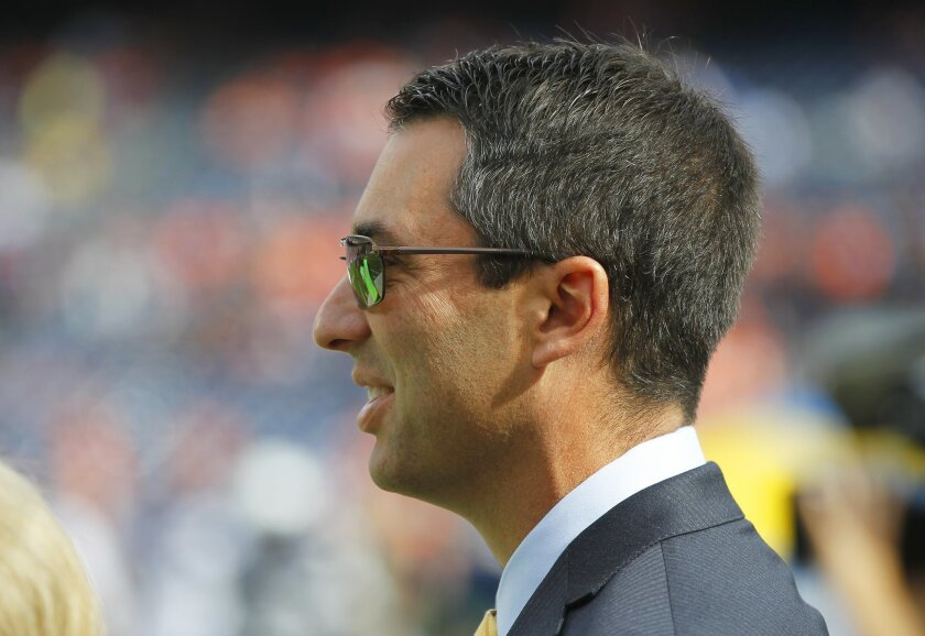 The Chargers quietly signed General Manager Tom Telesco to a three-year extension before the season, a team source said Sunday.
