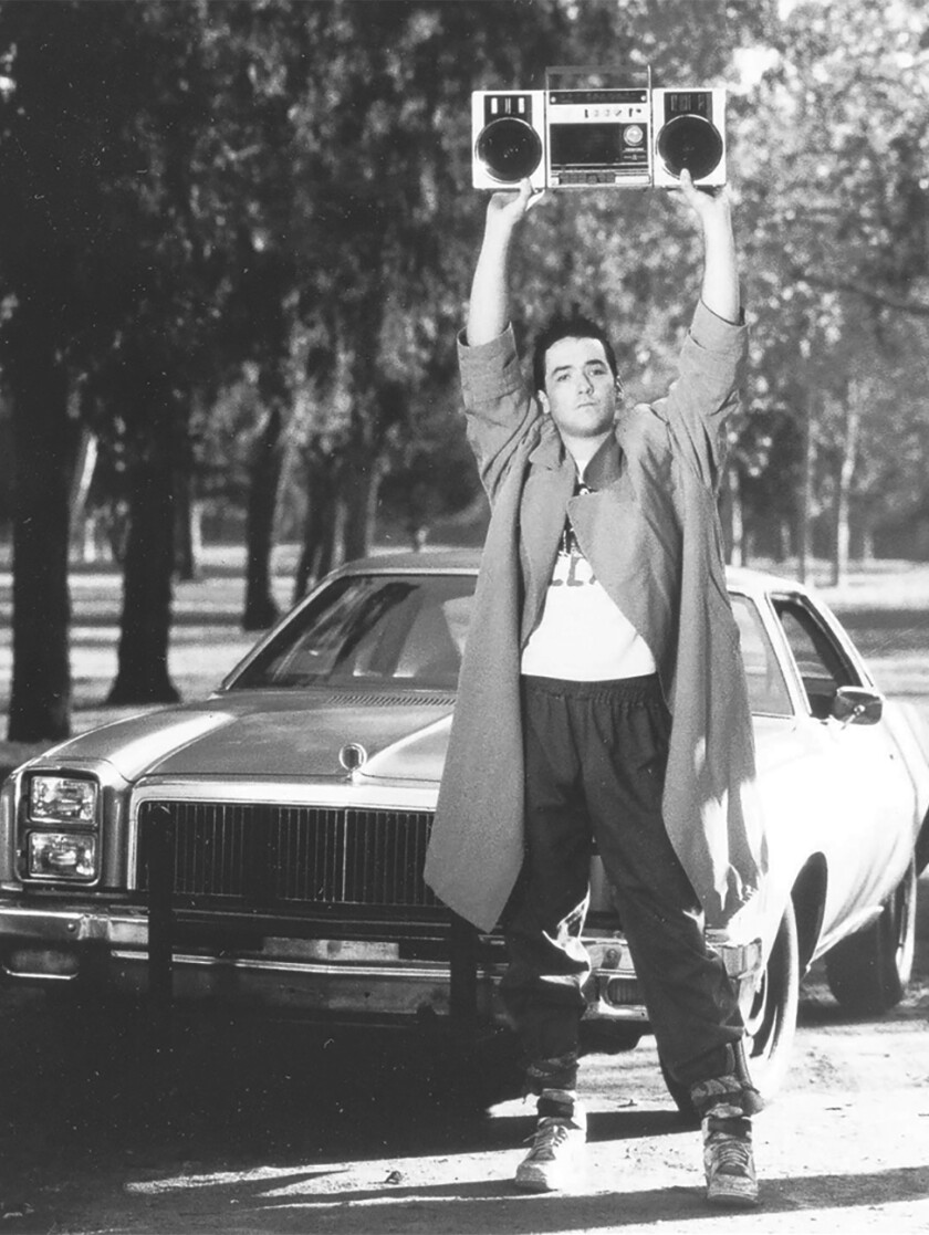 """""""Say Anything ...,"""" which starred John Cusack and was Cameron Crowe's directorial debut, turns 30 this year."""