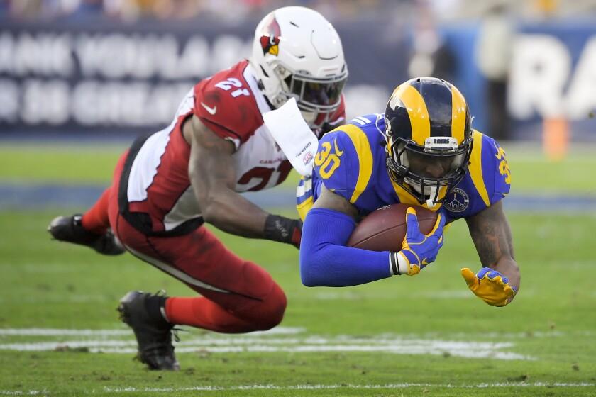 APTOPIX Cardinals Rams Football