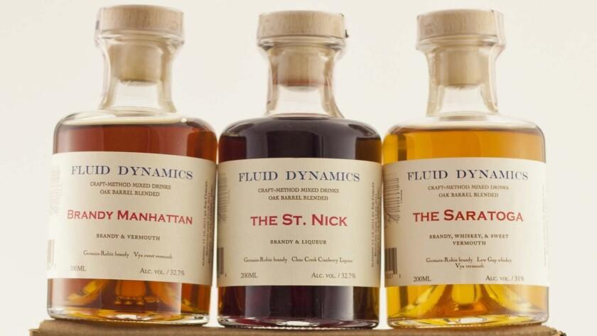 Fluid Dynamics' barrel-aged cocktails make perfect stocking stuffers.