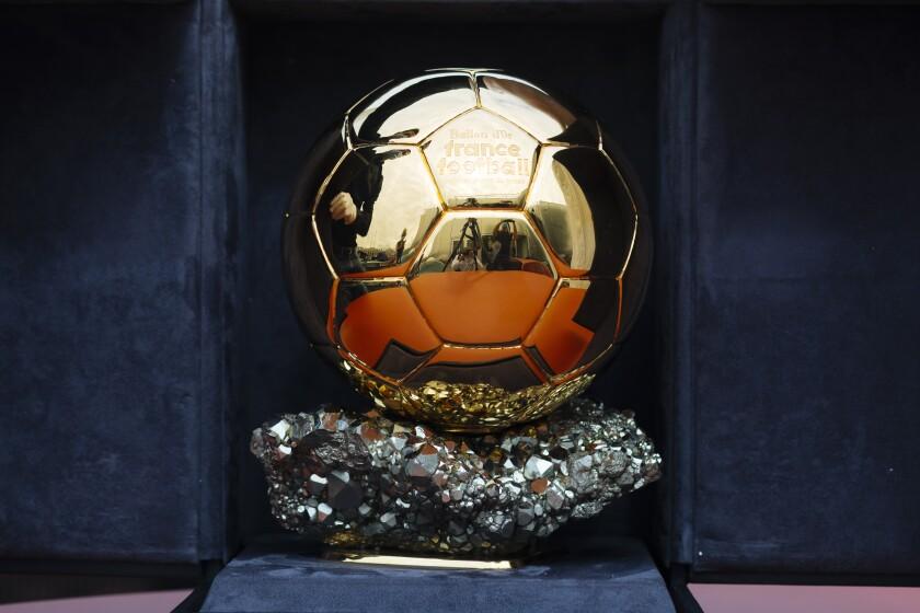 The Ballon d'Or trophy