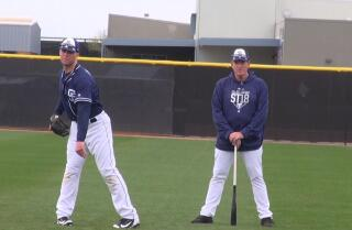 Pitchers talk about Darren Balsley, the longest tenured Padres coach
