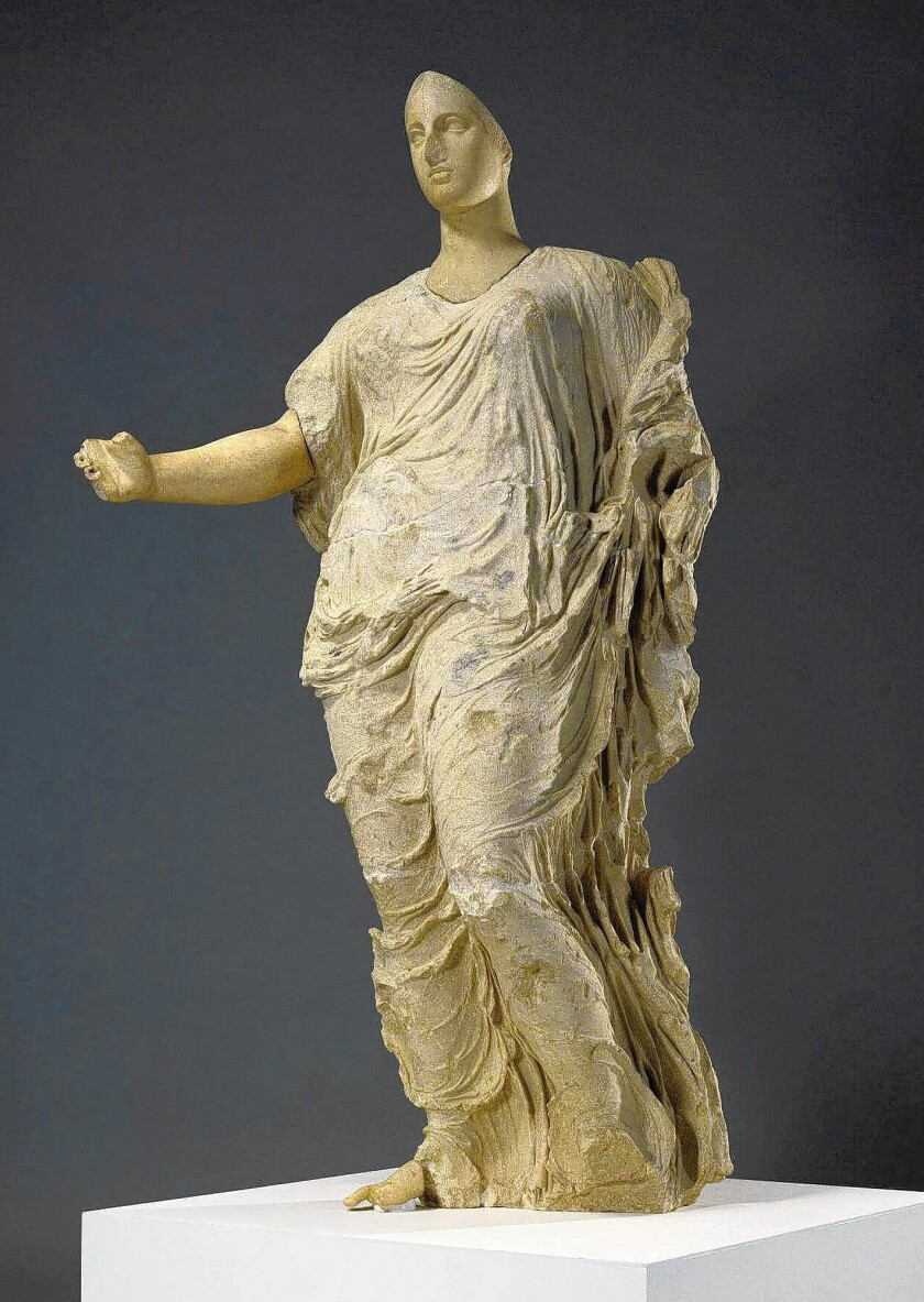 In 2011, the J. Paul Getty Museum repatriated its iconic Aphrodite statue back to Italy.