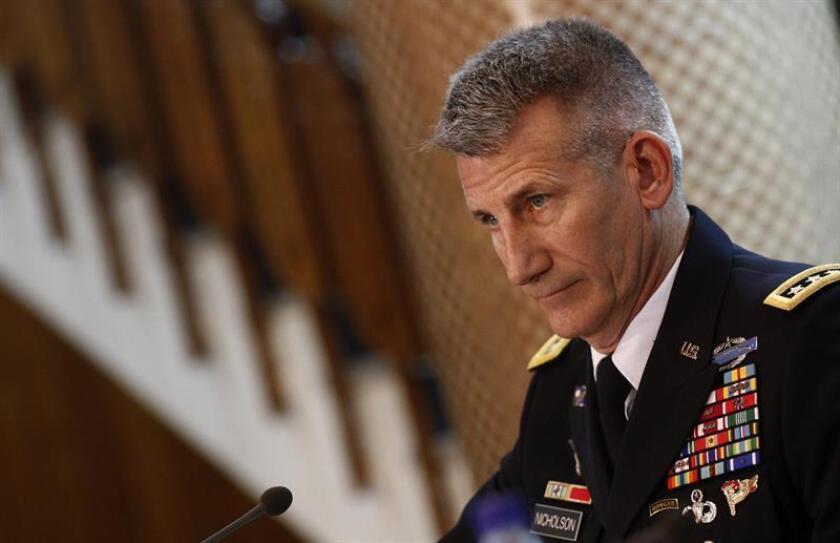 Un soldado estadounidense falleció hoy en Afganistán a consecuencia de las heridas que se produjo durante el accidente sufrido por el vehículo en el que viajaba, informaron las Fuerzas Armadas. EFE/ARCHIVO