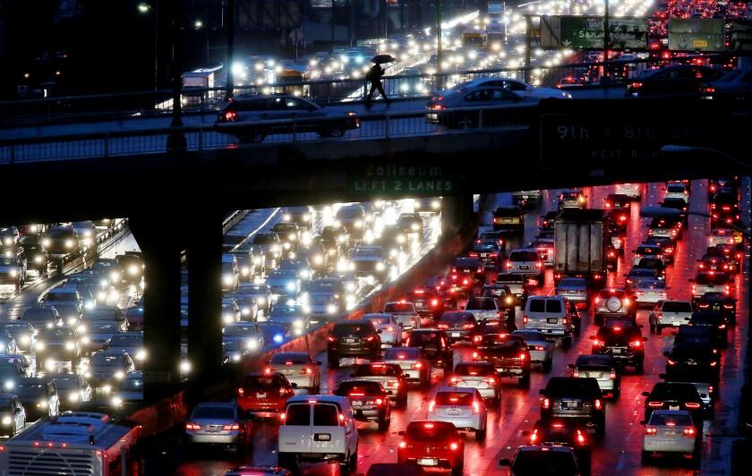Los Angeles worst traffic