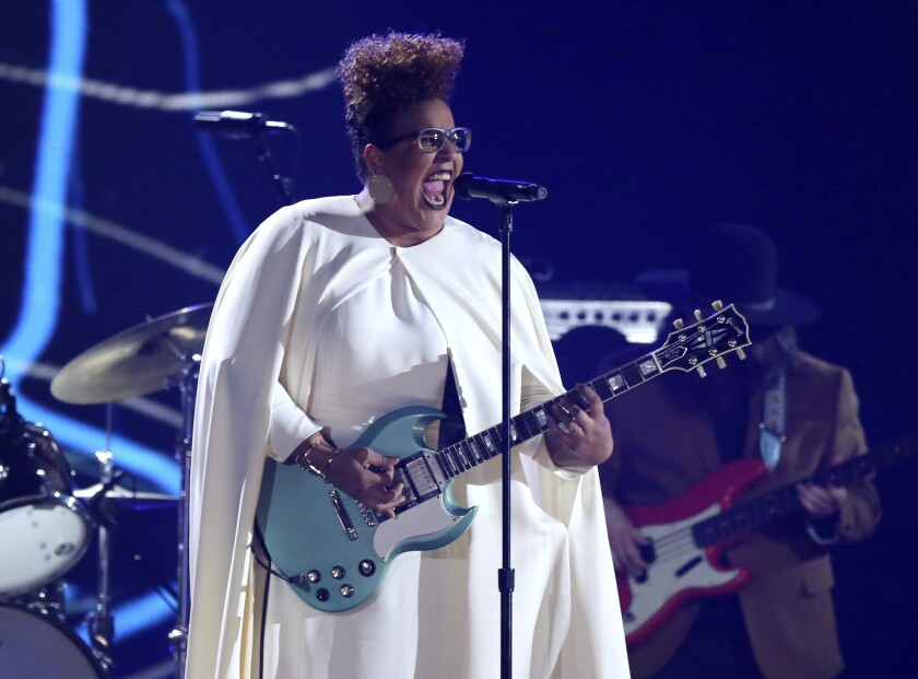 Music-Grammywatch-Brittany Howard