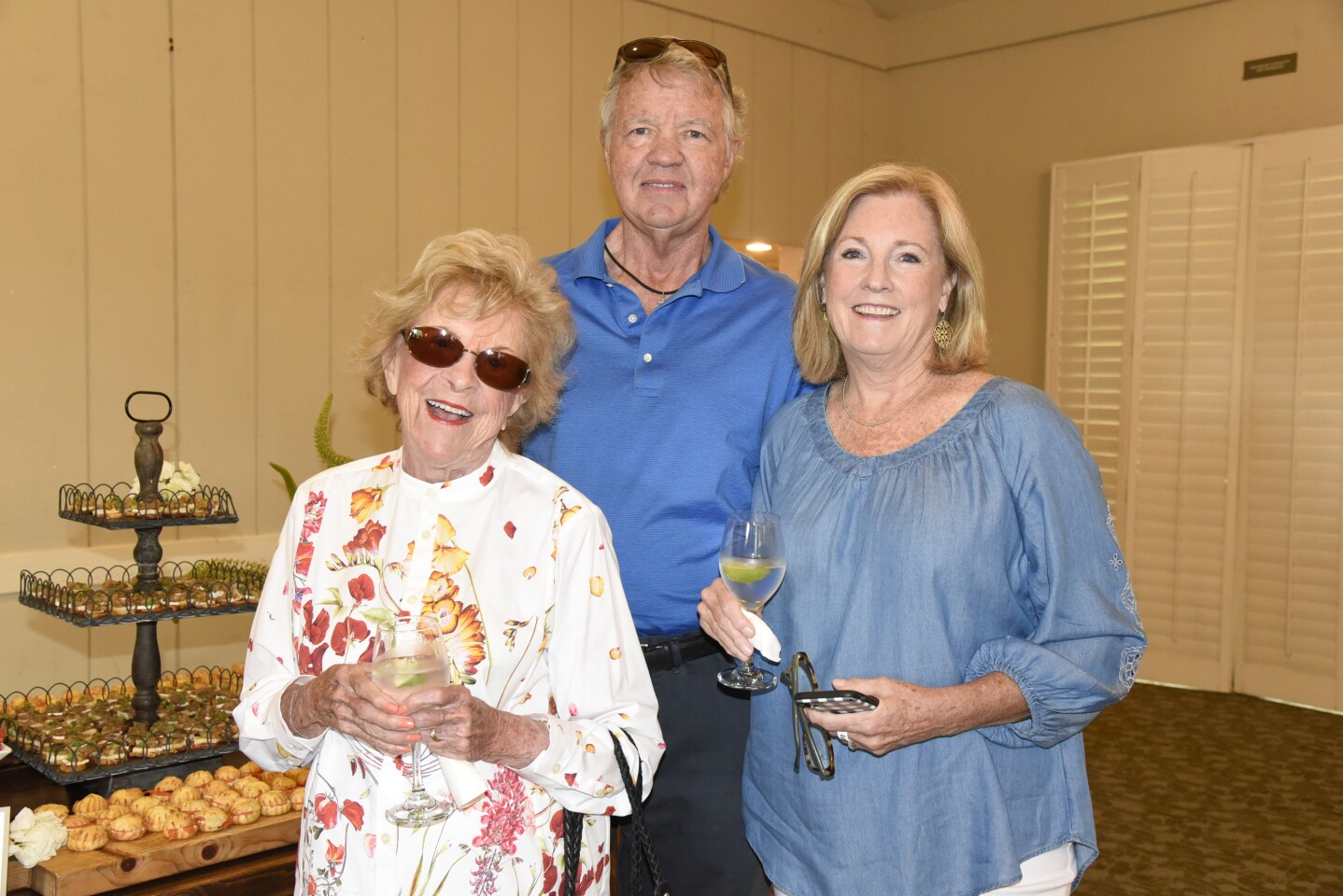 Joan Sealy, Mike and Franny Kemper