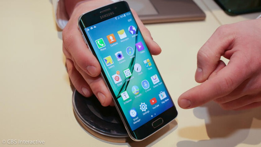 The Samsung Galaxy S6 is one of the company's phone models vulnerable to a security breach.