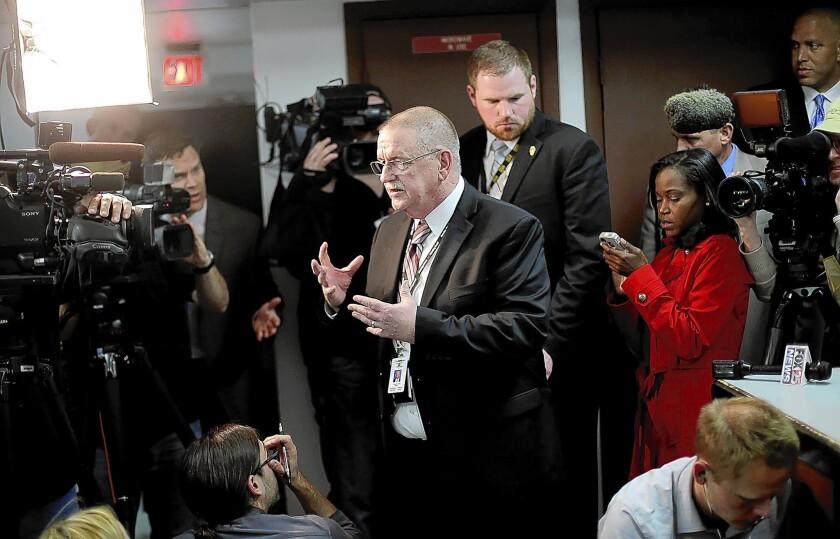 Oklahoma prisons director Robert Patton discusses Clayton Lockett's execution.