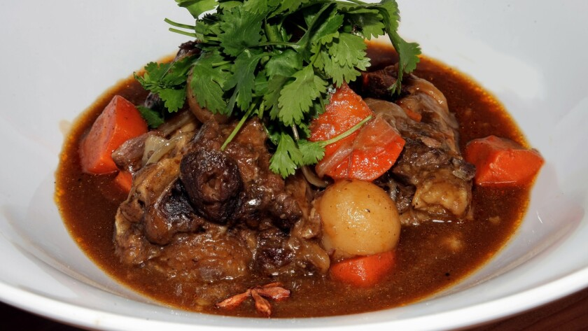Authentic oxtail soup is a bestseller at the California Hotel Casino in Las Vegas.