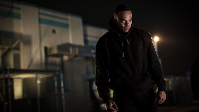 """Jason Woods, as Chauncey Page in a scene from """"Thriller."""" Credit: Amber Waller/Blumhouse"""